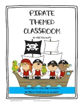 Pirate Themed Classroom/September Start Up Kit