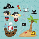 Pirate Themed Clip Art