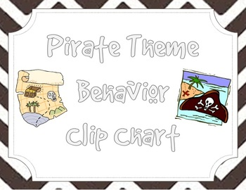 Pirate Themed Clip Chart Behavior System