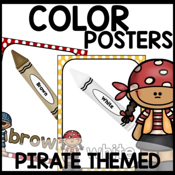 Pirate Themed (Color Posters)
