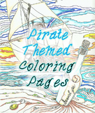 Pirate Themed Coloring Pages