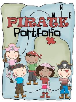 Pirate Themed  Communication/Homework Folder