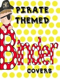 Pirate Themed Data Binder Covers