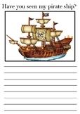 Pirate Themed Descriptive Writing