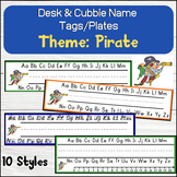 Pirate Themed Desk / Name / Cubbie Tags