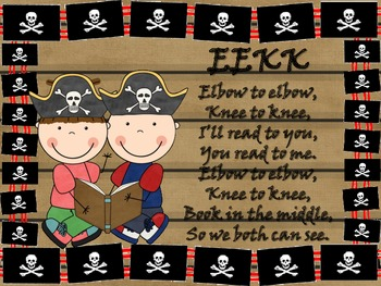 Pirate Themed EEKK Posters