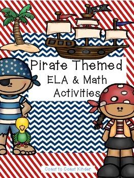 Pirate Themed ELA & Math Activities