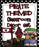 Pirate Themed Editable Classroom Decor Set {Editable Label