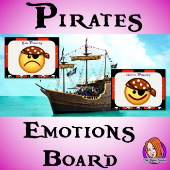 Pirate Themed Emotion Boards