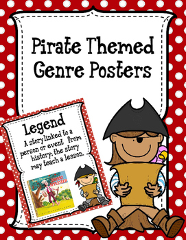 Pirate Themed Genre Posters