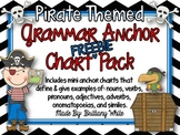 Pirate-Themed Grammar Mini-Poster Set