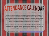 Pirate Themed Gulfport School District Back to School Attendance Calendar Forms