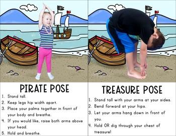 Pirate Themed Kids Yoga