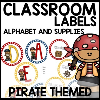 Pirate Themed Labels