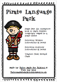 Following Instructions & Vocabulary - Pirate Language Pack