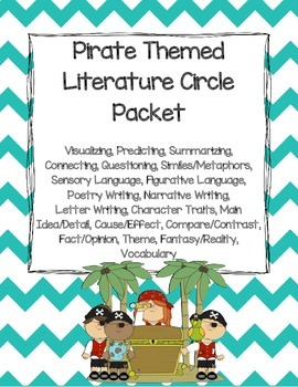 Pirate Themed Literature Circle Packet: Use With Any Book