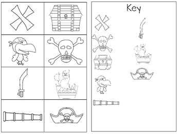 Pirate Themed Map Activities