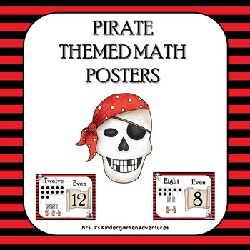 Pirate Themed Math Posters