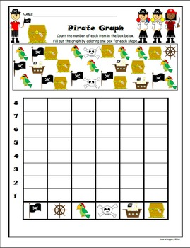 Math Worksheets K-1 (Pirate Theme)