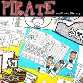 Pirates   Math and Literacy Activities  