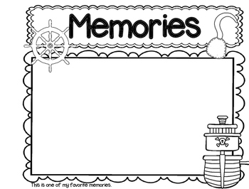 Memory Book Pirate Theme