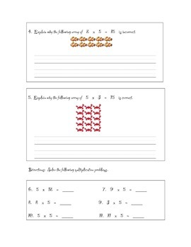 Pirate-Themed Multiplication with Five