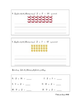 Pirate-Themed Multiplication with Three