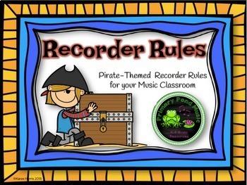 Pirate Themed Music Room Decor Bundle