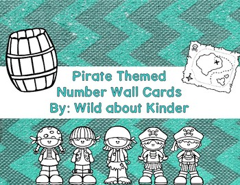 Pirate Themed Number Wall Cards