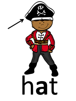 Pirate Themed Phonics Posters
