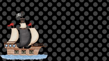 Pirate Themed Powerpoint Template