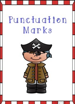 Pirate Themed - Punctuation Posters