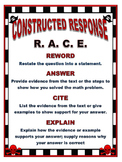 Pirate Themed RACE Constructed Response Poster