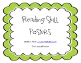 Pirate Themed Reading Skill Posters