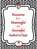 Pirate Themed Resources for a Meaningful and Successful Author's Chair