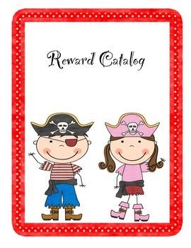 Pirate Themed Reward Catalog