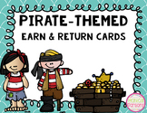 Pirate-Themed Rewards Card