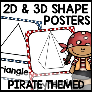 Pirate Themed (Shape Posters)