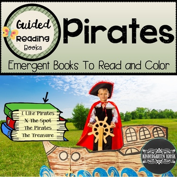 Sight Word Books Pirate Themed