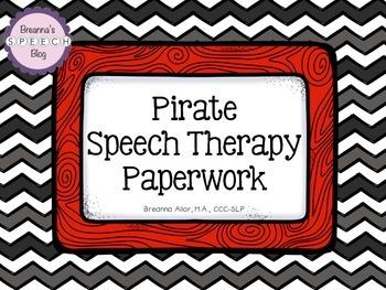 Pirate Themed Speech Paperwork