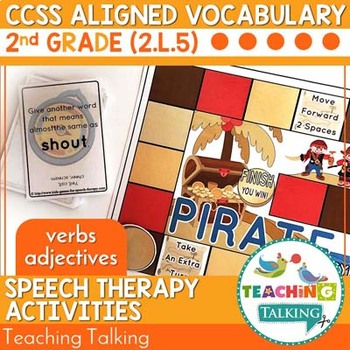 Pirate Themed Speech Therapy Activities Value Bundle