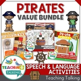 Pirate Speech Therapy Activities Value Bundle