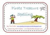 Pirate Themed Spelling Centre Activity