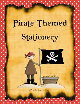 Pirate Themed Stationery - 12 pages