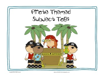 Pirate Themed Subject Tags
