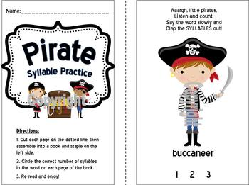 Pirate-Themed Syllables Practice for Little Learners!