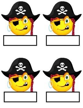 Pirate Themed Tags ~ Job Board, Bulletin Board & Locker Tags