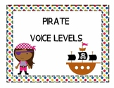 Pirate Themed Voice Level Posters