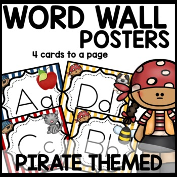 Pirate Themed Word Wall