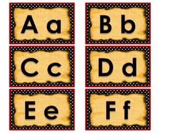 Pirate Themed Word Wall Letter Headings Aa - Zz